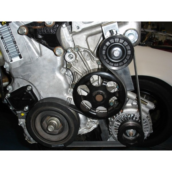 compressor motor pulley size